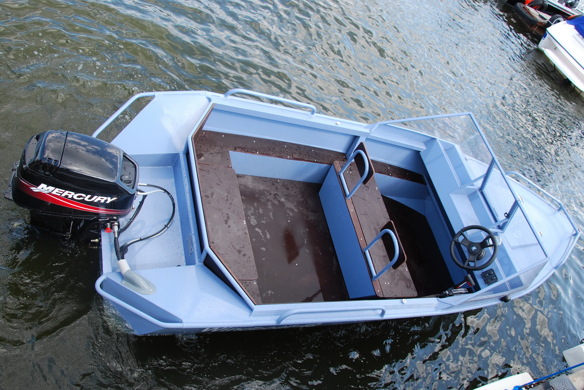 консоль для лодки виндбот